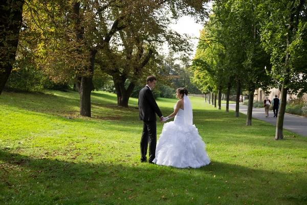 Svatební fotografie běžný úhel