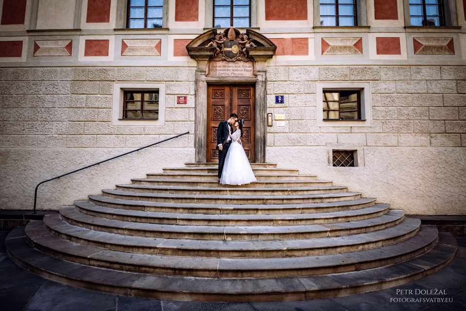 Pre Wedding Photo Session in Prague Castle