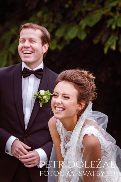 focení nevěsty a ženicha
