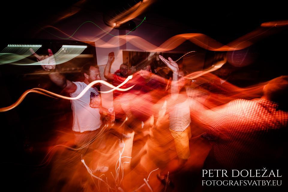 Dynamický způsob zachycení tance.