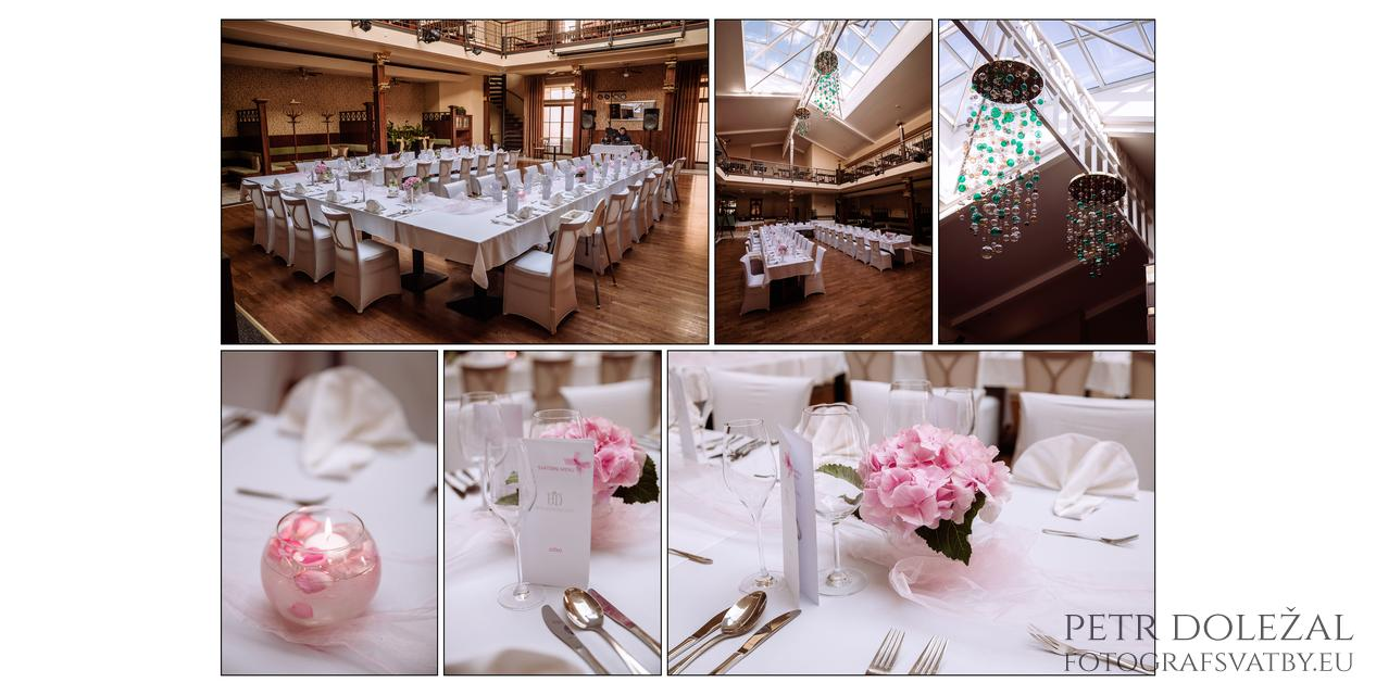 fotografování svatební hostiny