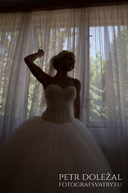 Původní neupravená svatební fotografie
