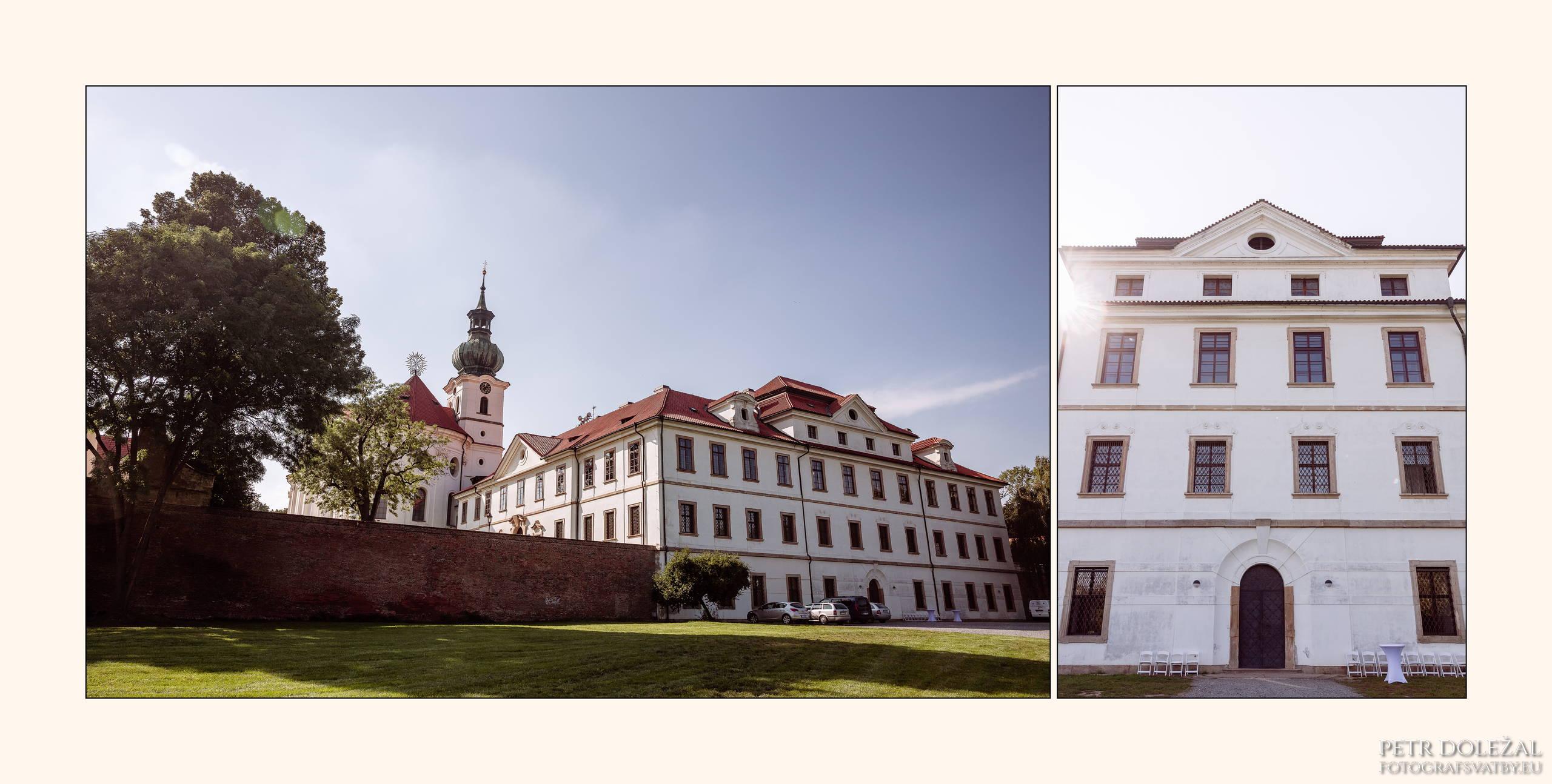 Svatební místa Praha 6 - Břevnovský klášter