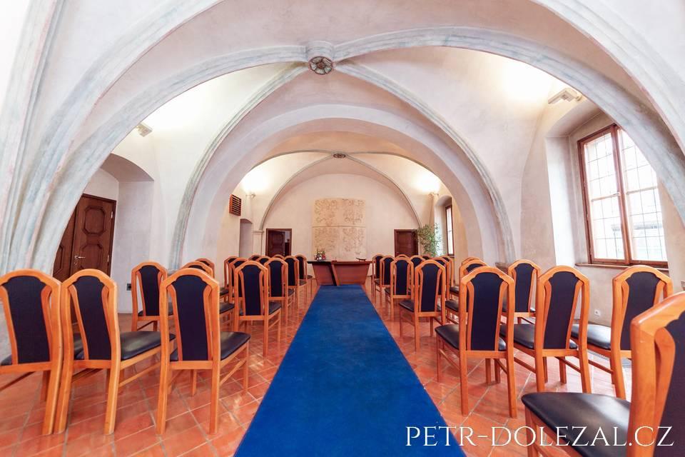 Obřadní sál Novoměstské radnice Praha