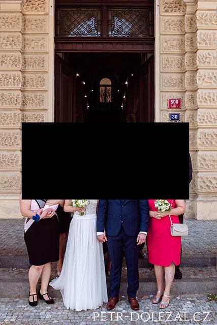 Obřadní síň -Nuselská radnice Praha 4