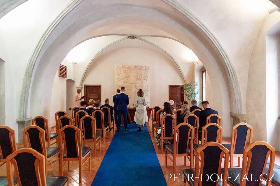 Svatební obřad Novoměstská radnice Praha
