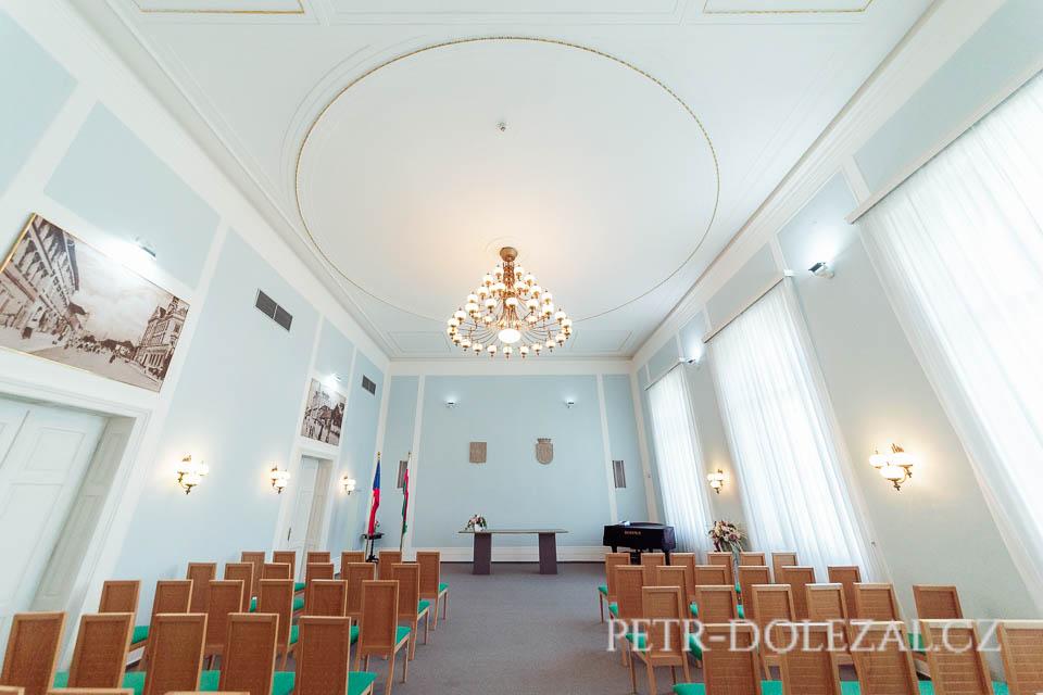 Svatební síň ve Vysočanské radnici, Praha 9