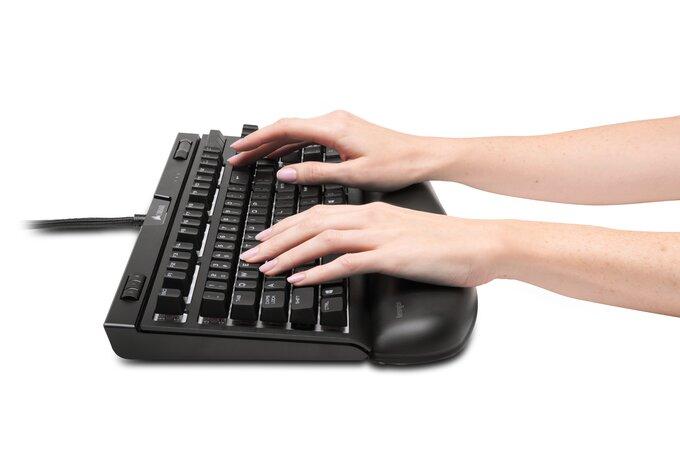 Ergonomická podložka pod zápěstí ke klávesnici počítače