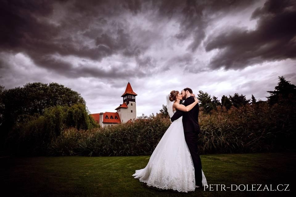 Fotky ze svatby na hradu