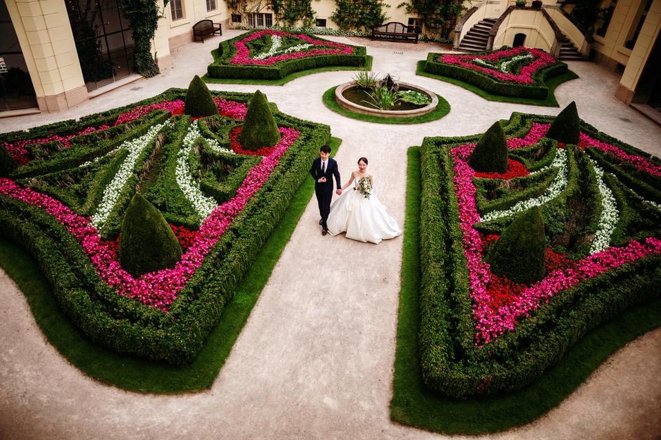 Místo na svatbu Praha 1 - Vrtbovská zahrada