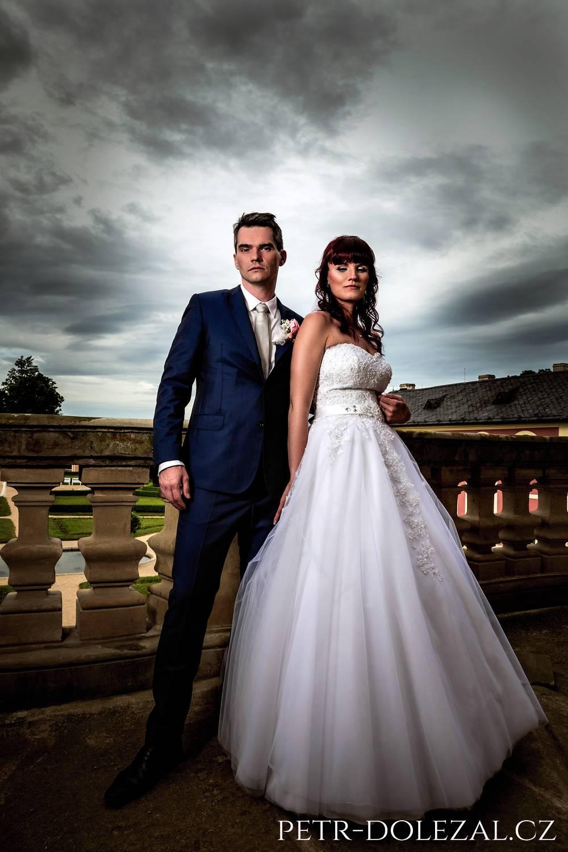 Svatební fotky mohou být takto elegantní