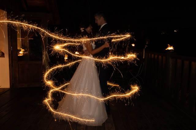 Svatební foto před úpravou