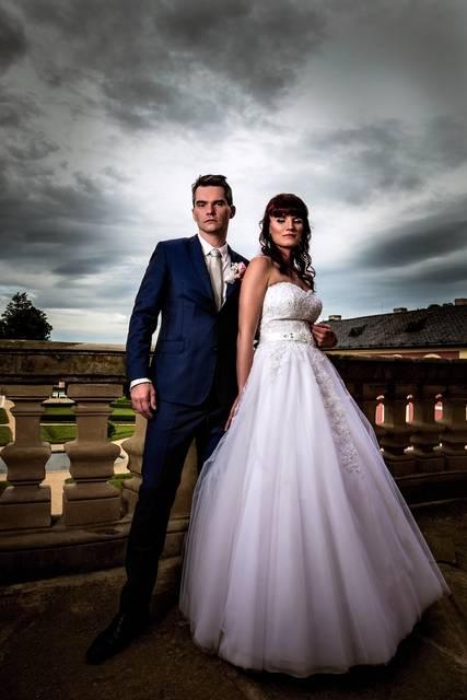 Fotka ze svatby po úpravách