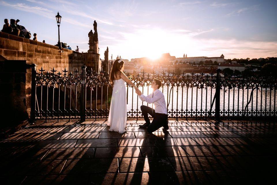 Svatební fotografie po retuších