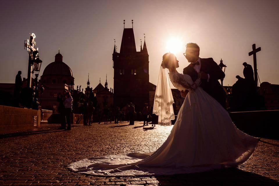 Foto svatby po retuších