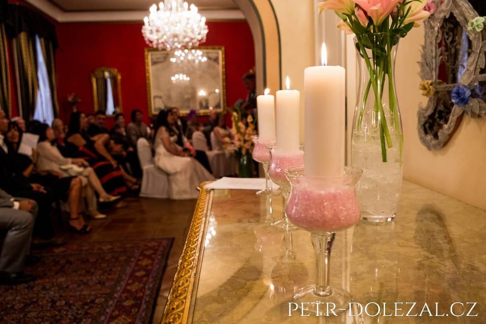 Hotel Alchymist svatební obřad
