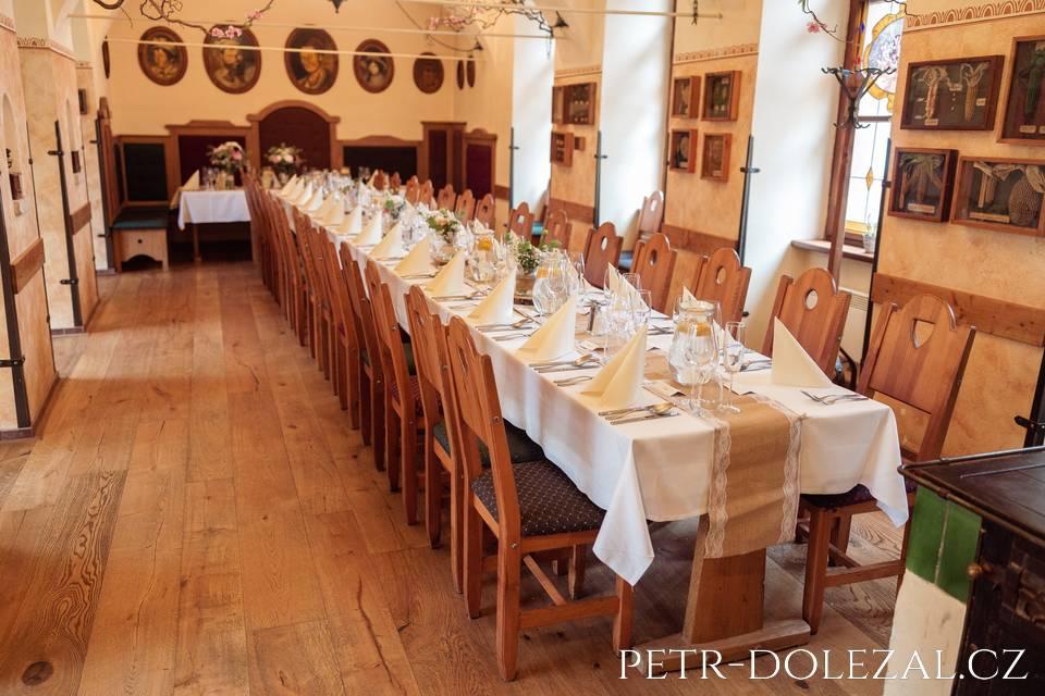 Hotel Selský Dvůr - svatební hostina
