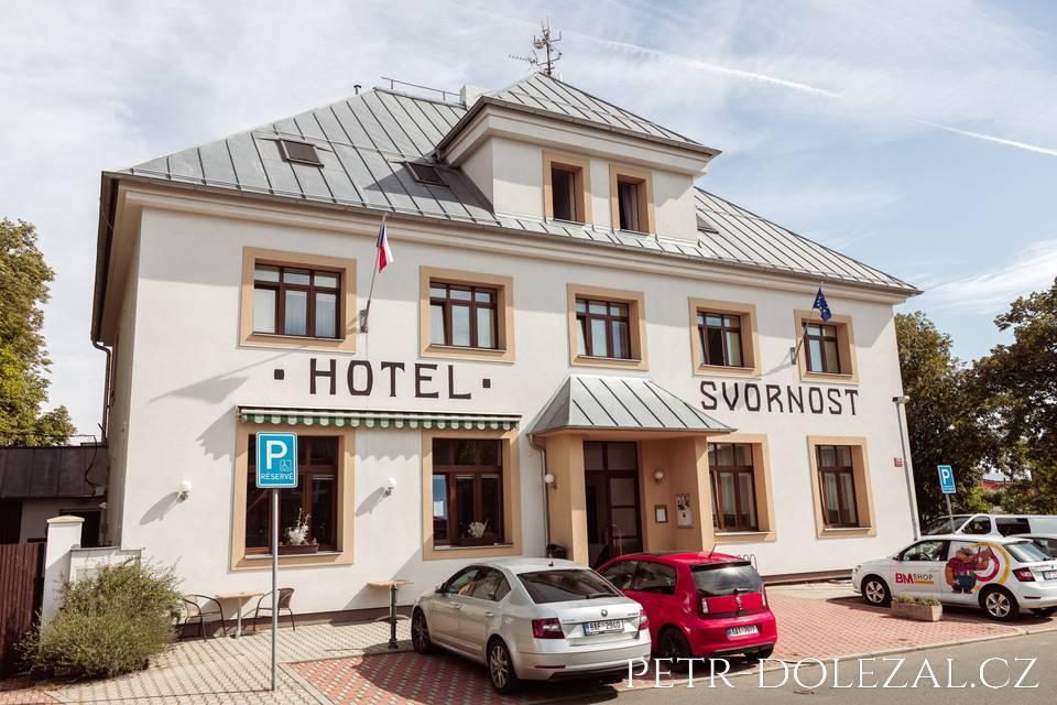 Hotel Svornost jako místo pro svatbu