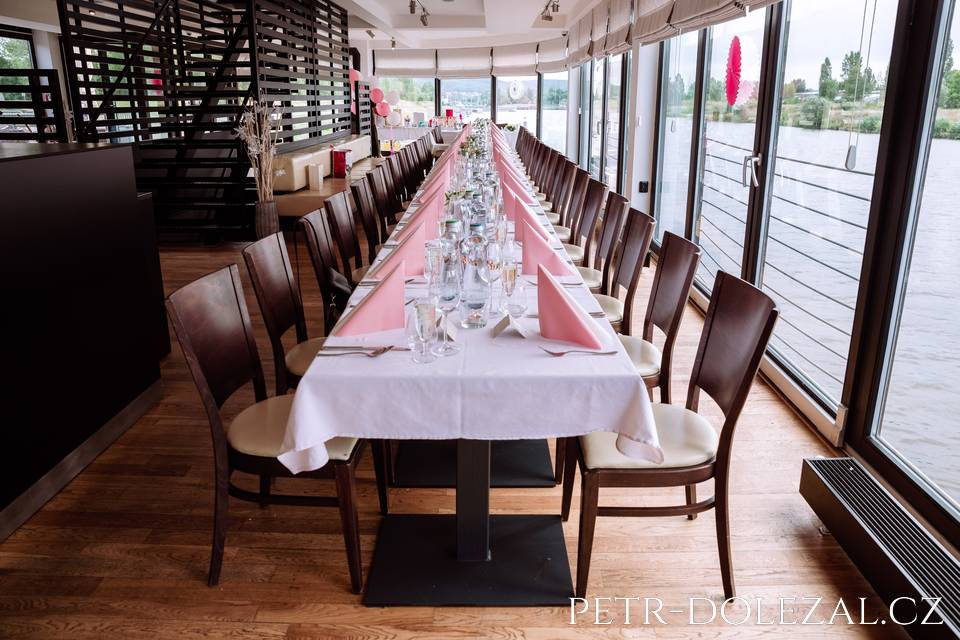 Svatební hostina restaurace Rosmarina