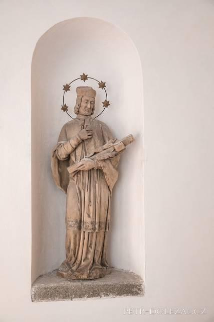 Sv. Jan Nepomucký na zámku Zbiroh