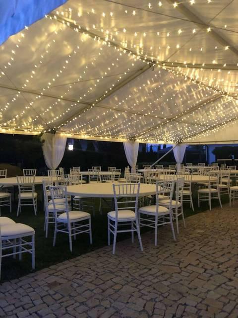 Svatební osvětlení
